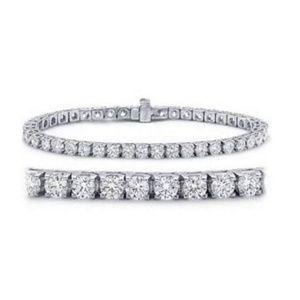 Jewelry - Classic Tennis Bracelet 14K White Gold Value